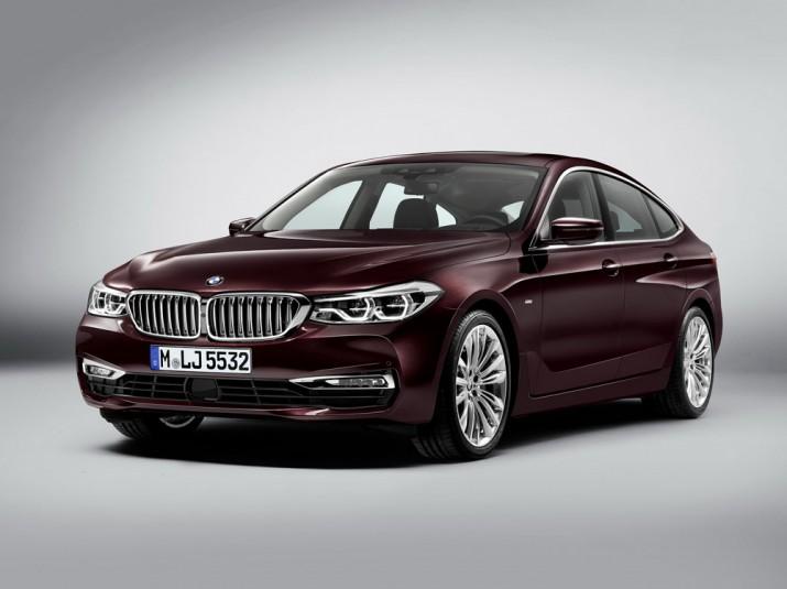 BMW 6-Series GT2018 фото 01