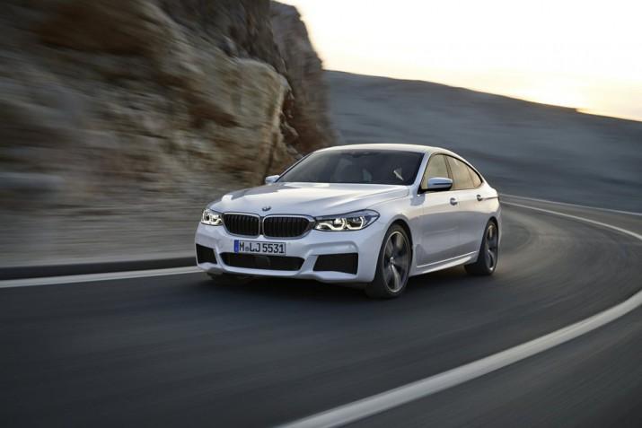 BMW 6er Gran Tourismo, 640i xDrive, Mineralwei?, M Sportpaket