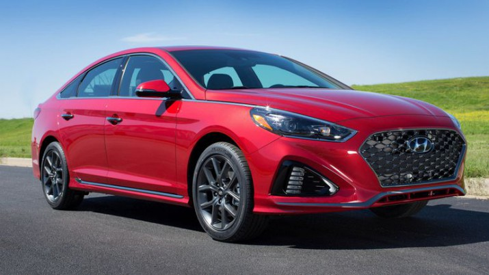 Hyundai Sonata 2017 получила доллоровый ценник