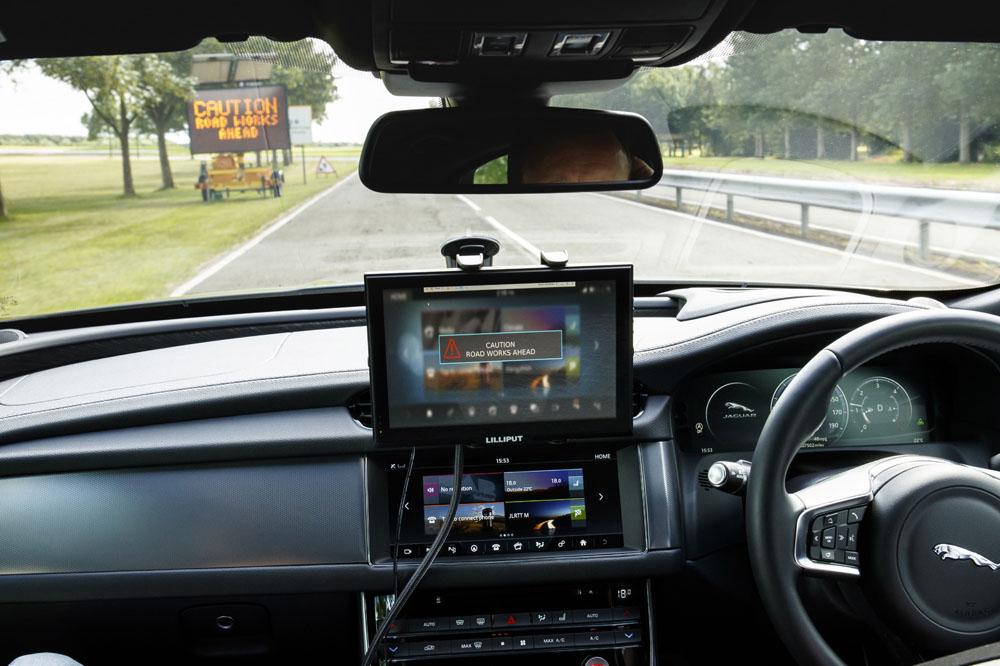 Jaguar Land Rover Lyft