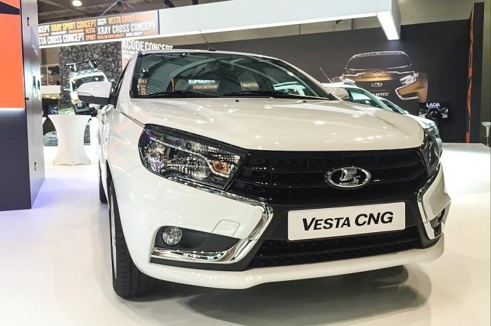 Lada Vesta CNG первая битопливная Lada встала на конвейер