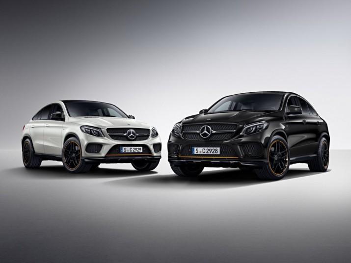 Mercedes-Benz запустит продажи кросс-купе GLE с оранжевым пакетом