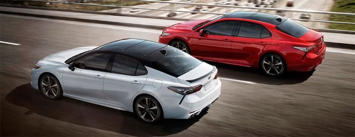 Новое поколение Toyota Camry встало на конвейер в США