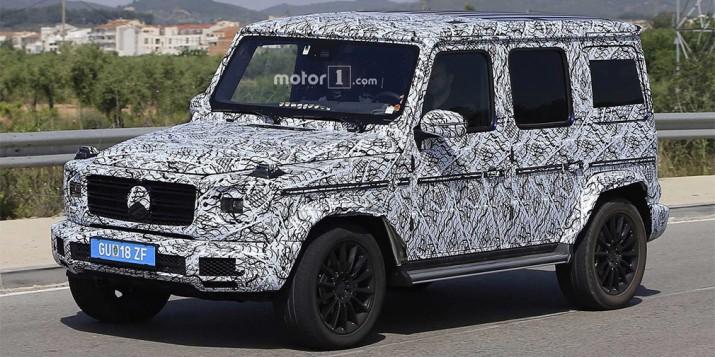 Новый Mercedes-Benz G-class получит независимую подвеску