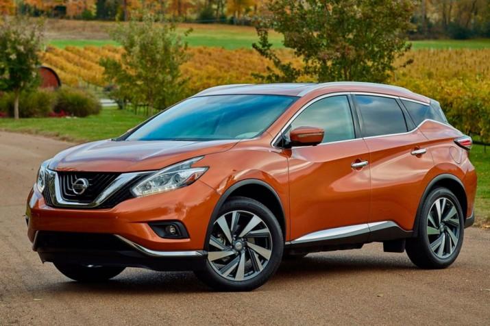 Почти 7000 автомобилей Nissan Murano отзовут из-за опасности воспламенения