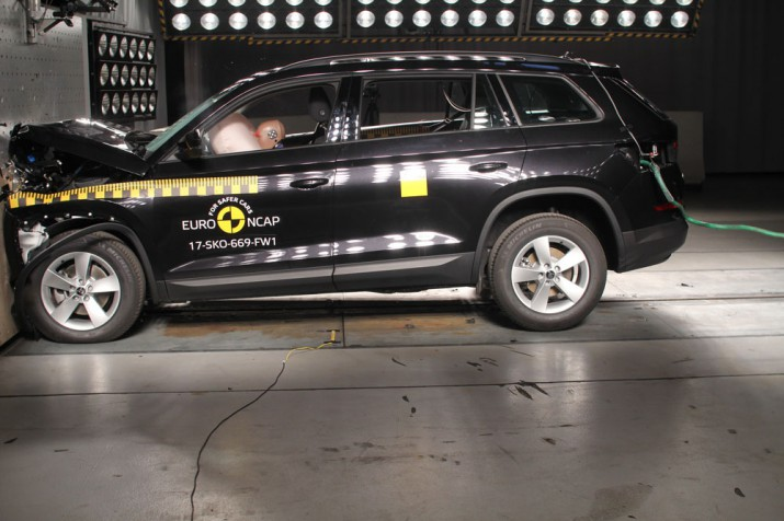 Skoda Kodiaq получила 5 звезд от Euro NCAP