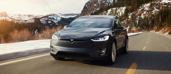 Tesla Model X 2017 Фото 02