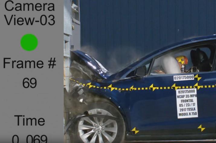 Tesla Model X прошла краш-тесты NHTSA