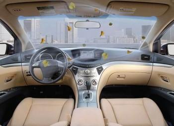 Удаление запаха в салоне автомобиля