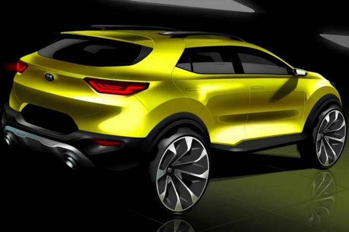 В KIA рассекретили дизайн нового компактного SUV