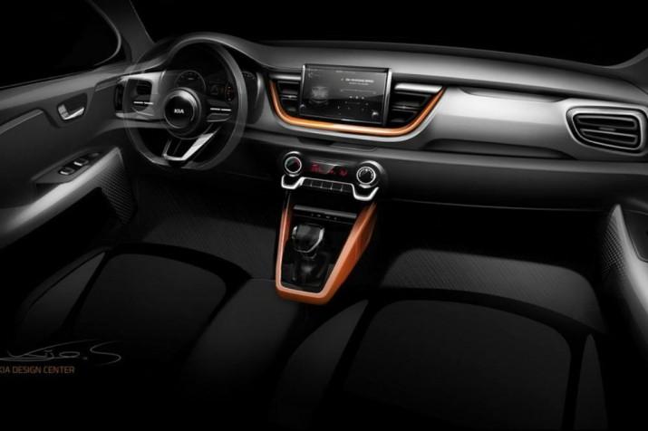 В KIA рассекретили дизайн нового компактного SUV1