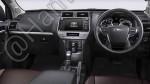 В соцсетях появились фото интерьера и экстерьера нового Toyota Land Cruiser Prado1