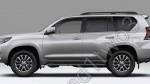 В соцсетях появились фото интерьера и экстерьера нового Toyota Land Cruiser Prado2