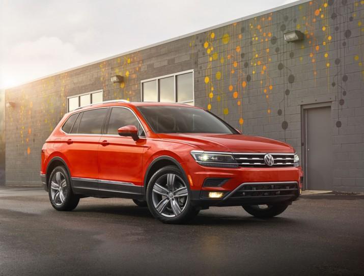 Volkswagen Tiguan 2018 США фото 01