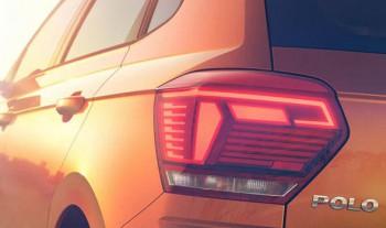 Volkswagen частично рассекретил внешность хэтчбэка Polo 2017