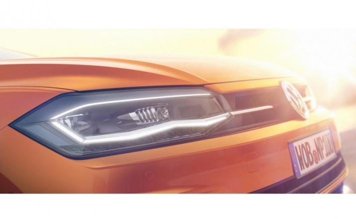 Volkswagen частично рассекретил внешность хэтчбэка Polo 20171