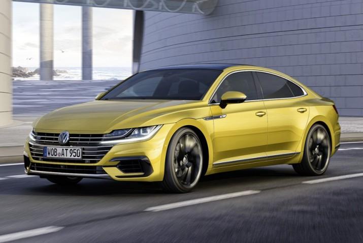 Volkswagen запустит продажи лифтбэка Arteon в России в 2018 году