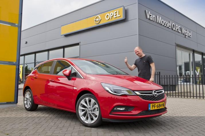 новый Opel Astra за просомтры на YouTube