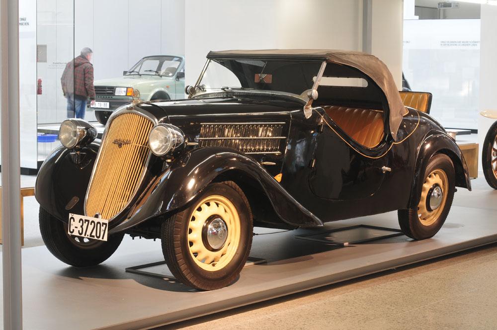 Skoda 420 popular 1930-х годов