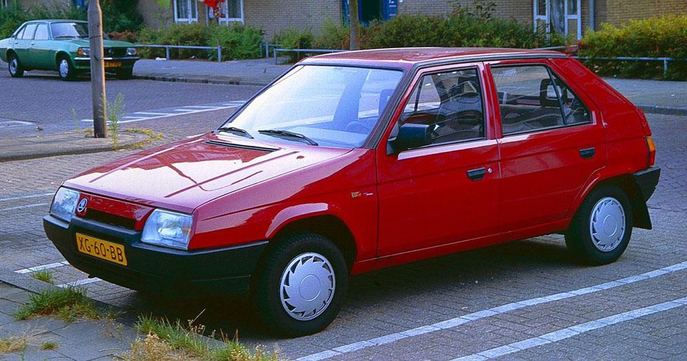 Skoda Favorit 1987 года