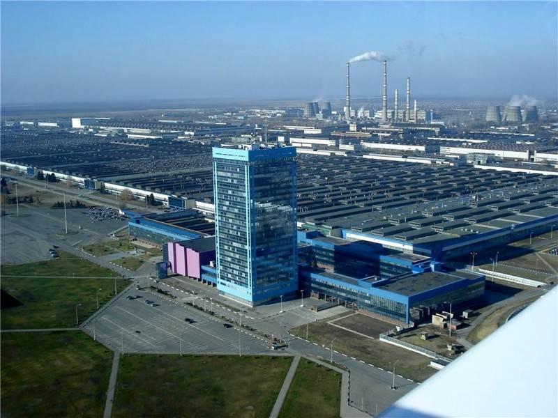 Волжский автомобильный завод Тольятти