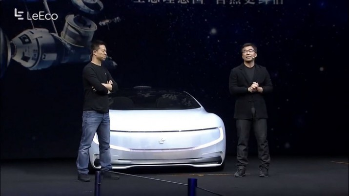 Электромобиль Faraday Future Фото 01