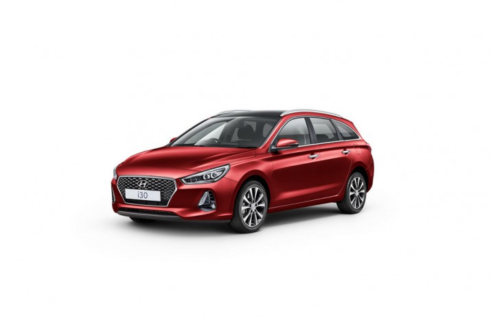 Hyundai i30 Tourer 2018 UK Фото 01