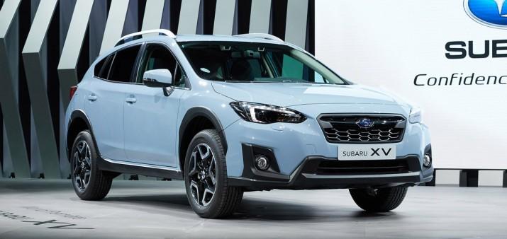 Обновленный Subaru XV с пакетом активной безопасности приедет в Россию зимой 2017 г.