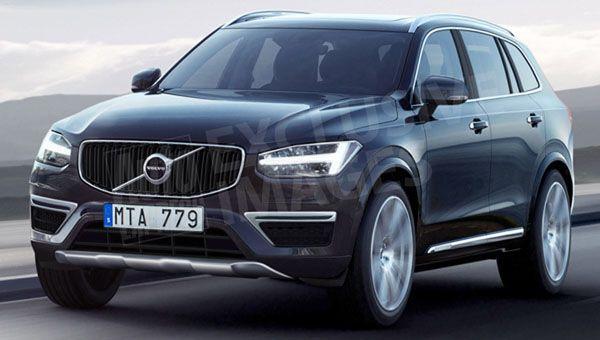 Первые изображения нового Volvo XC40 опубликовали в сети1