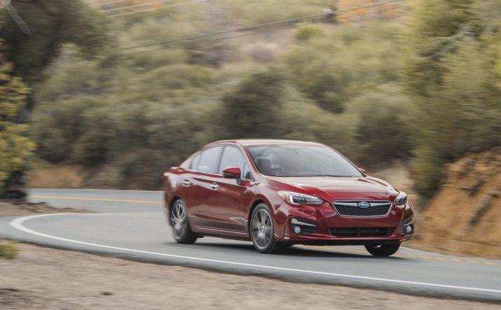 Subaru Impreza 2018 США