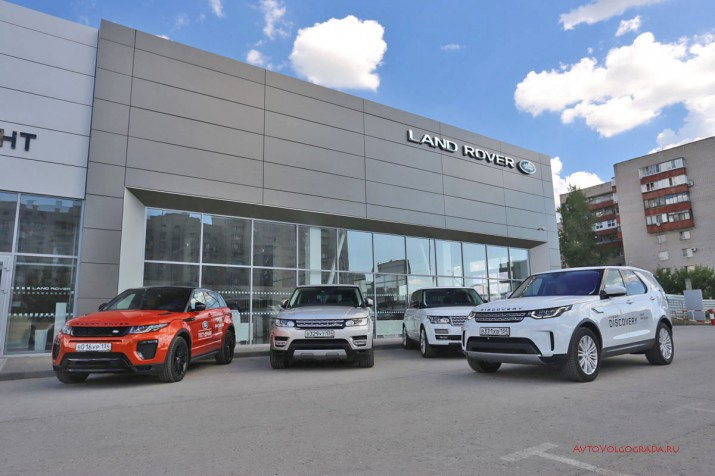 Тест-драйв Land Rover Discovery 5 2017 Фото 10