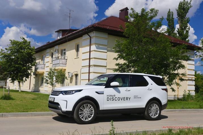 На бездорожье или в городе, Land Rover Discovery хорош везде.