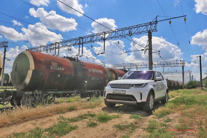"""Проходимость """"Диско"""" можно было бы сравнить с поездной, вот только рельсы ему ни к чему."""