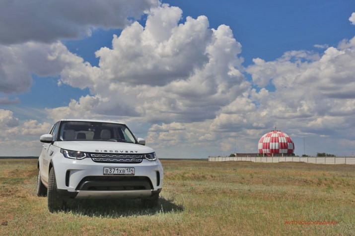 Тест-драйв Land Rover Discovery 5 2017 Фото 52