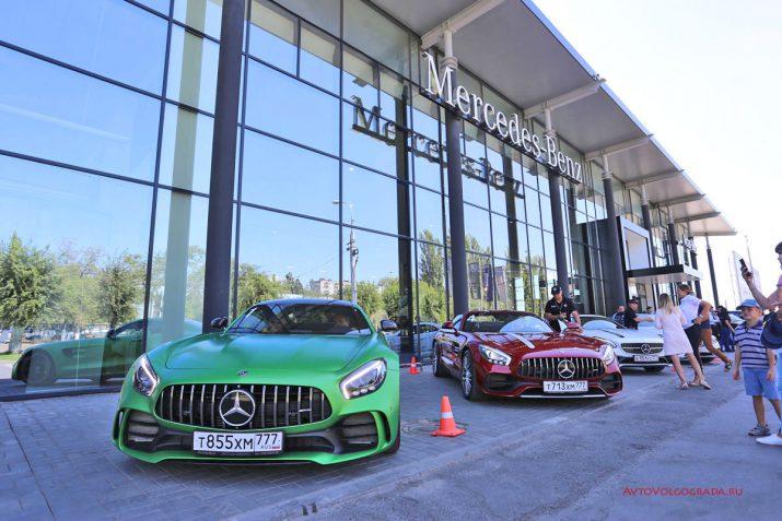 AMG Performance Tour 2017 Волгоград Фото
