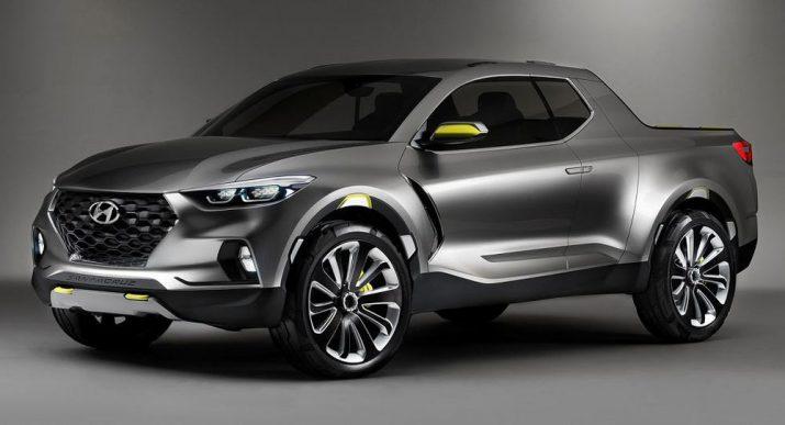 Концепт Hyundai Santa Cruz получил зеленый свет в США и заменит Santa Fe в 2019 году