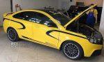 В сети появились первые изображения серийно Lada Vesta Sport