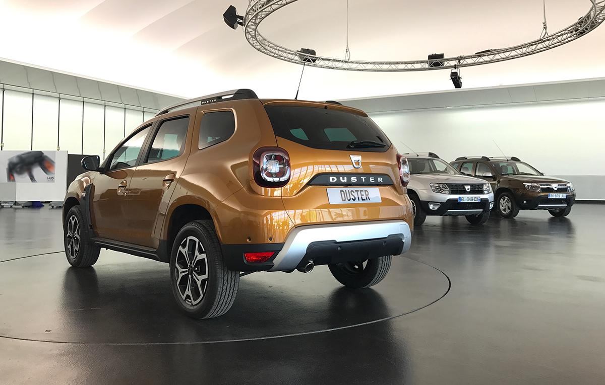 Новый Duster показали воФранкфурте