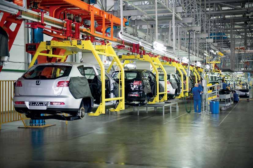 Доля авто русской сборки увеличилась до82%