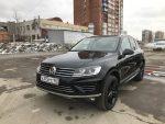 На московских дорогах появился тестовый прототип нового Volkswagen Touareg