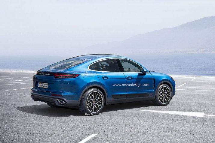 Porsche все еще не определилась с Cayenne Coupe