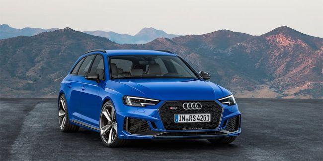 Во Франкфурте представлен новый супер-мощный Audi RS4 Avant