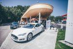 Зарядные станции Tesla Фото 4