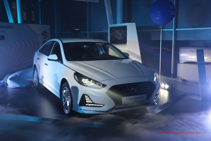 Презентация нового Hyundai Sonata в Волгограде в Агат