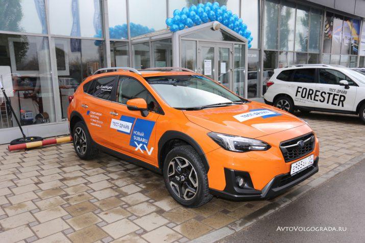 Презентация нового Subaru XV в Волгограде