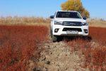 Тест-драйв Toyota Hilux 2017 Волгоград 49