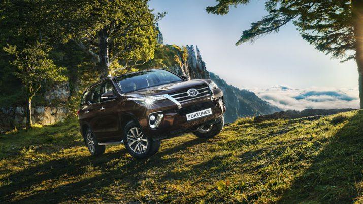 Toyota Fortuner внешний вид