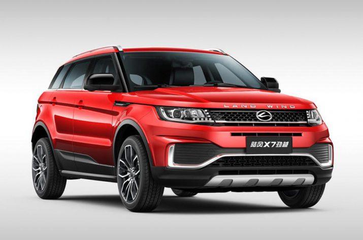 Landwind Infamous X7 обновился для Китая, но выглядит по-прежнему как Range Rover