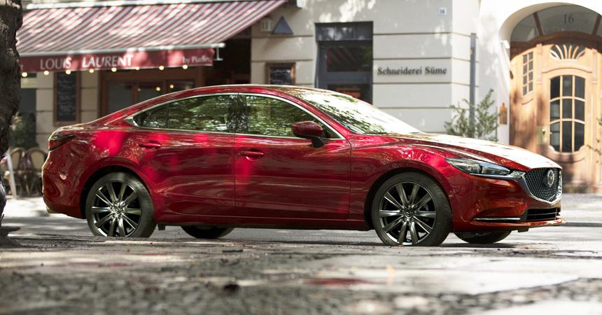 В Лос-Анджелесе официально представили новый седан Mazda 6