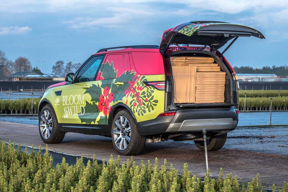 У вас есть вещи которые нужно перевезти куда подальше? Land Rover готов помочь в этом благодаря запуску новой торговой платформы Discovery
